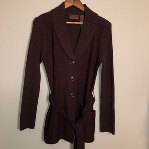Fenn Wright Manson Felted WOOL Cardigan Jacket